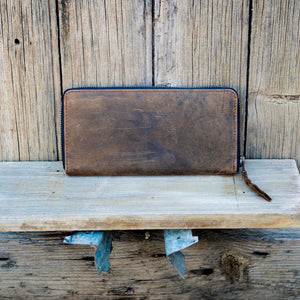 Buffalo Hide Leather Purse
