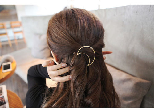 Simple Shapes Hair Clip