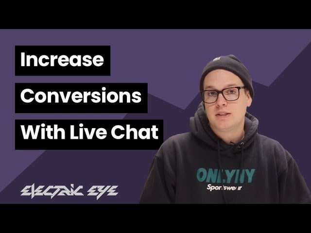 increase conversions with live chat