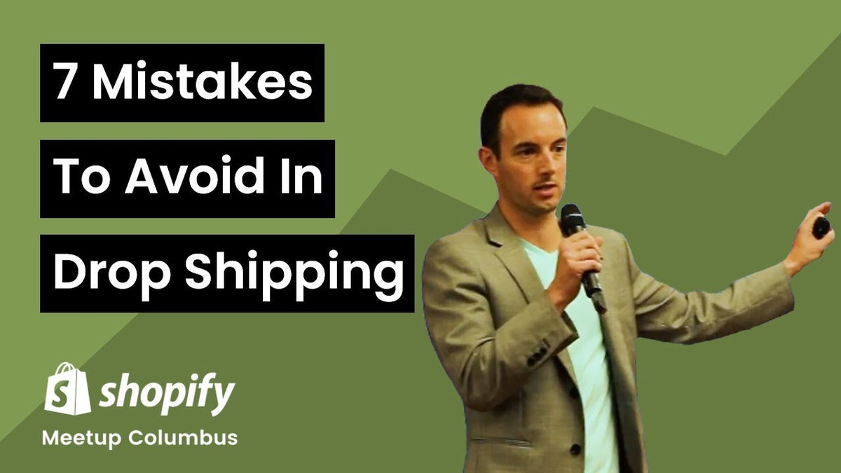 7 Mistakes to Avoid in Dropshipping and E-commerce Fulfillment by Chris Sentz