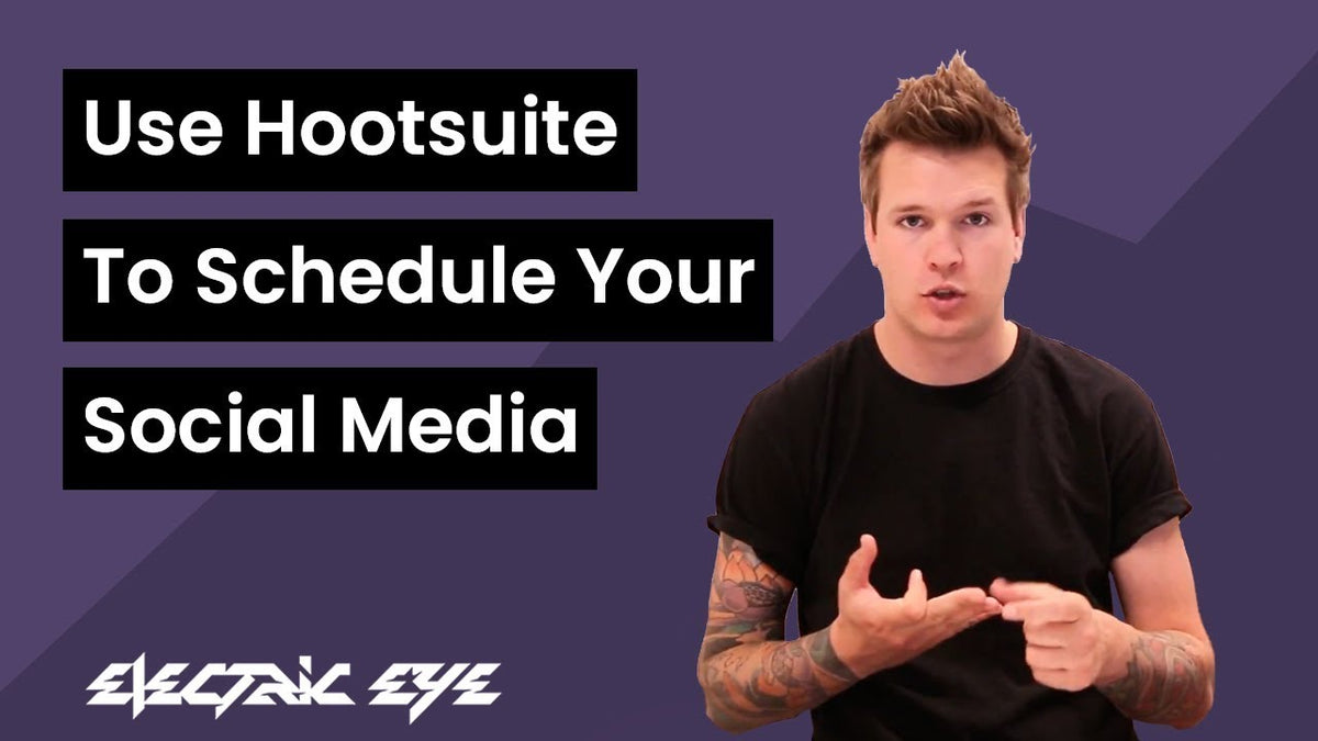 Hootsuite for scheduling