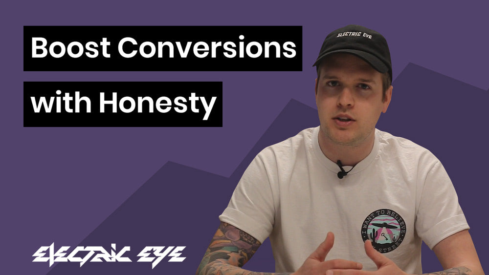 Boost conversions with honesty