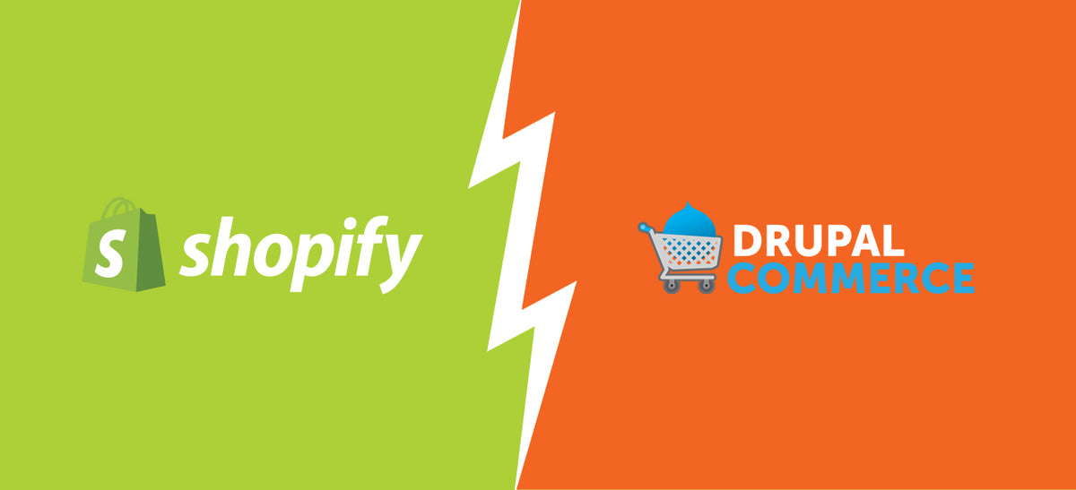 Shopify vs. Drupal Commerce: Seeking the Best eCommerce Platform