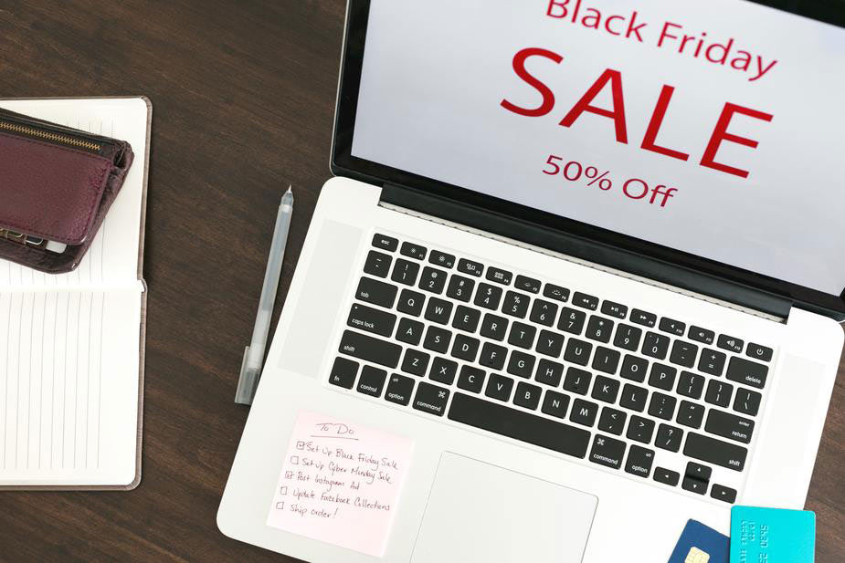 An example of a Black Friday sales promotion on a Shopify webstore