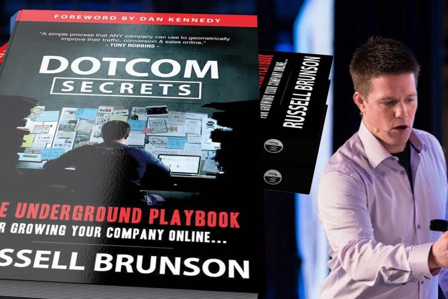 Dotcom Secrets by Russel Brunson