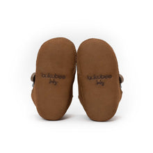 Brown Bear Bootie - Soft Soles