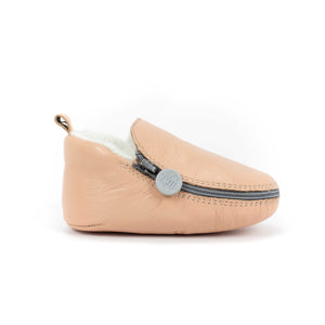 Cotton Candy Bootie - Soft Soles with Fur Lining