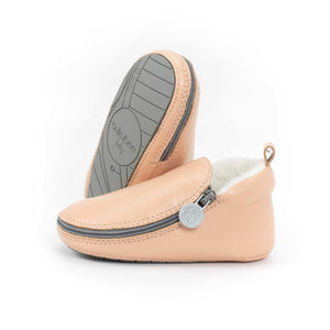 Cotton Candy Bootie - Rubber Soles with Fur Lining