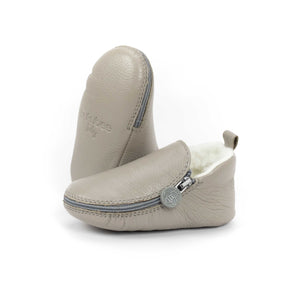 Dolphin Bootie - Soft Soles with Fur Lining