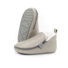 Dolphin Bootie - Rubber Soles with Fur Lining