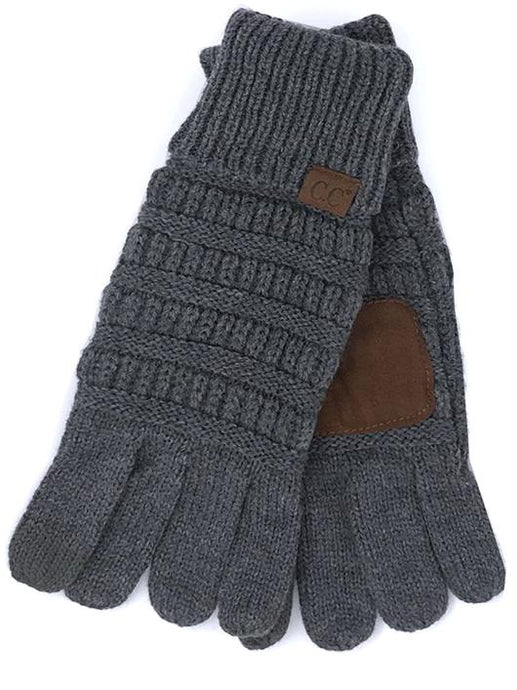 CC Touch Screen Compatible Knit Gloves
