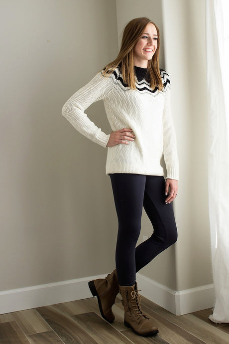 High Waist Fleece-Lined Leggings