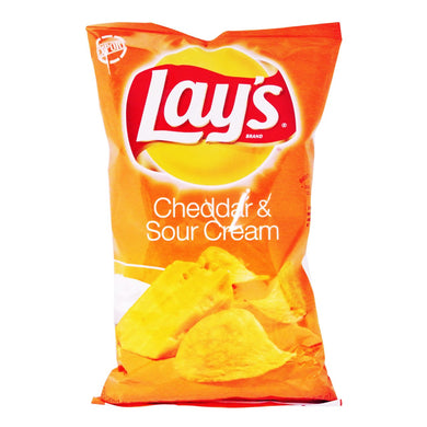Lay's Cheddar & Sour Cream 184.2g