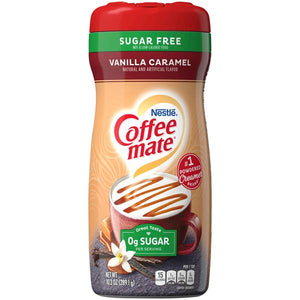 NESTLE COFFEE MATE VANILLA CARAMEL 0g SUGAR 289.1G