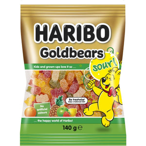 HARIBO Goldbears Sour 140g