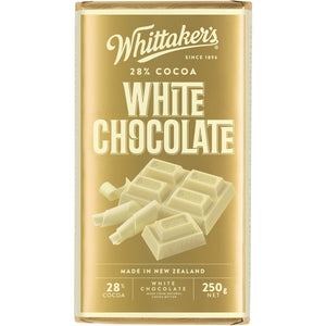 WHITTAKER'S WHITE CHOCOLATE BLOCK 250G
