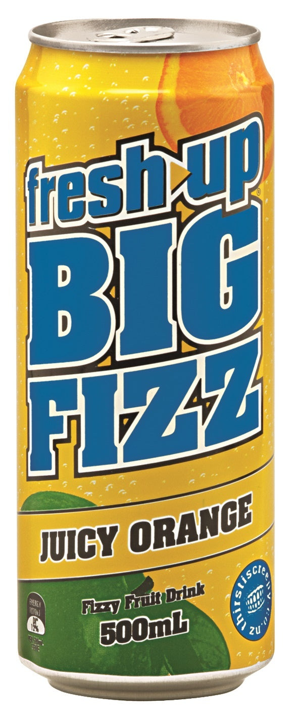 FRESH UP BIG FIZZ JUICY ORANGE 500 ML