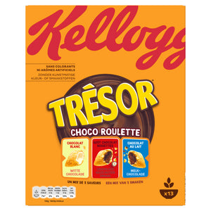 kellogg's tresor cereal CHOCO ROULETTE 375