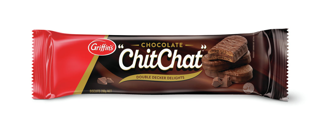 Griffins CHOCOLATE CHIT CHAT BISCUITS 180G