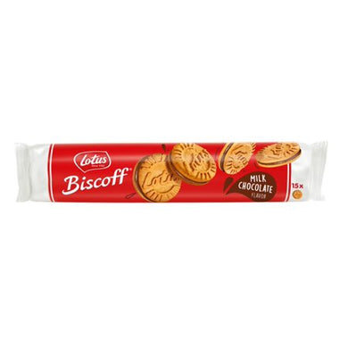 Lotus Biscoff Sandwich Biscuits (Milk Chocolate) 150g