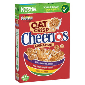 Nestle OAT Crisp Cheerios Cinnamon Cereal 440g