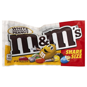m&m's White Chocolate Peanut Share Size 79.4g