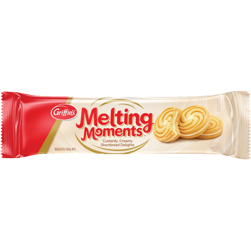 Griffins MELTING MOMENTS BISCUITS 250G