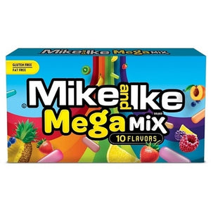 Mike and Ike Mega Mix 10 Flavours 141g