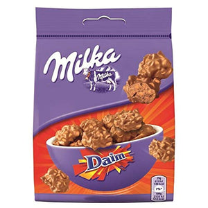 Milka Daim Milk Chocolate 145g