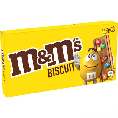 m&m's Biscuit 10 pk 198g