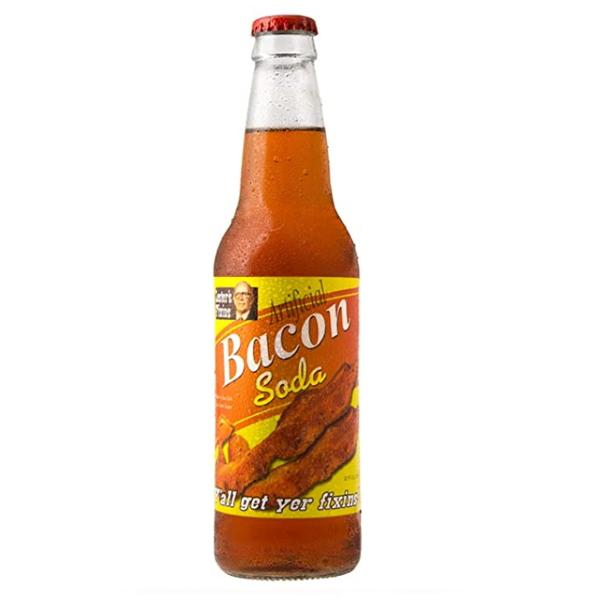 ROCKET FIZZ BACON Soda 355ML