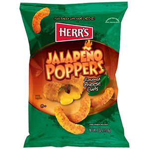 Herr's Jalapeno Poppers Cheese Curls 198.5g