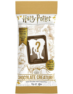 HARRY POTTER CHOCOLATE CREATURES, MILK CHOCOLATE WITH CRISPED RICE 15G