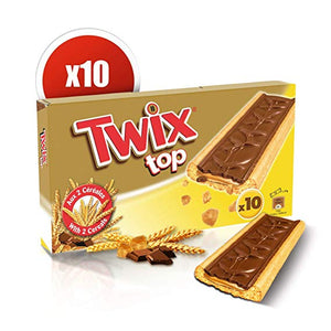 Twix Top box of  10 pk 210g