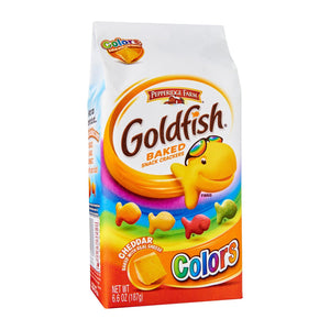 Pepperidge Farm Goldfish Biscuit, Colors Cheddar, 187g
