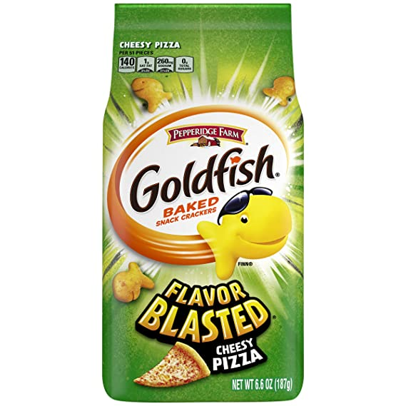 Pepperidge Farm Goldfish Biscuit, Flavor Blasted Cheesy PIZZA 187g