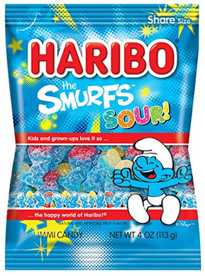 HARIBO the Smurfs Sour 113g