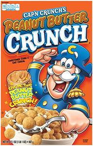 Cap'n Crunch's Peanut Butter Cereal 487g