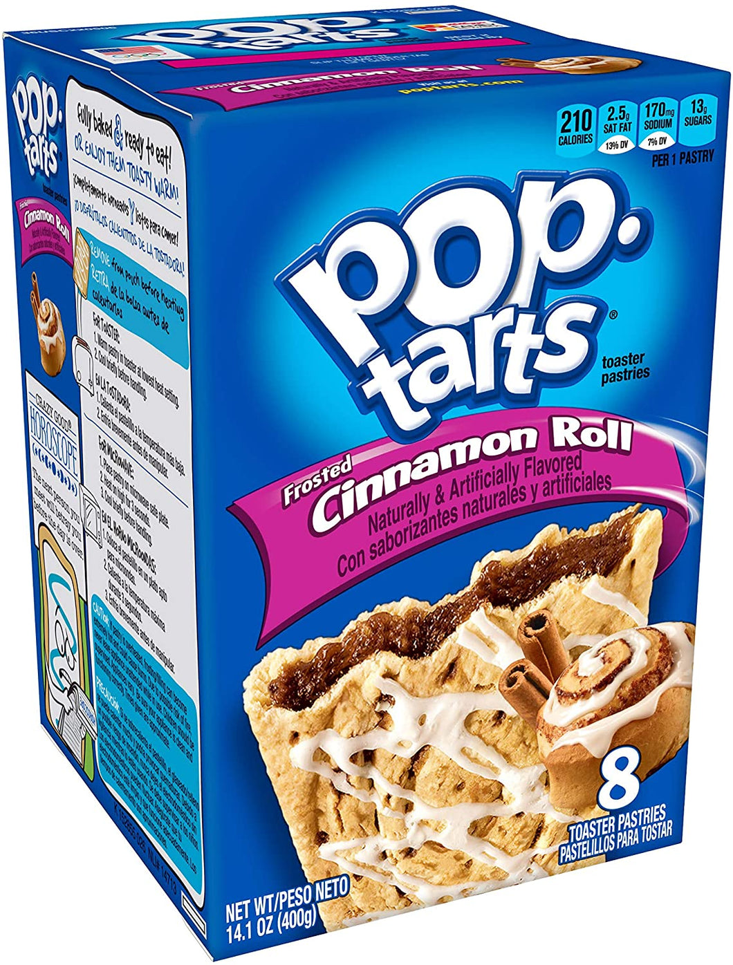 POP Tarts Frosted CINNAMON Roll 384g