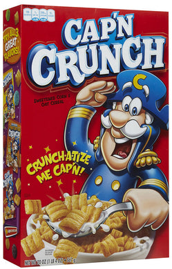 Cap'n Crunch Original Cereal 398g