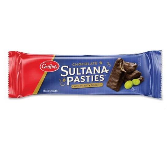 Griffin's Chocolate SULTANA PASTIES 185g
