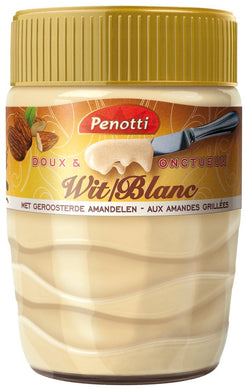 Penotti Wit white chocolate spread with almonds SPREAD 350g
