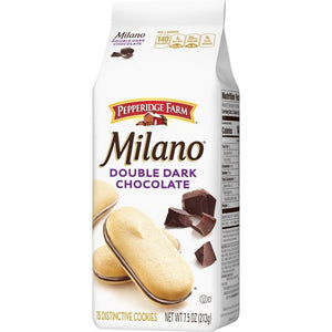 Pepperidge Farm Milano Double Dark Chocolate Cookies 213g