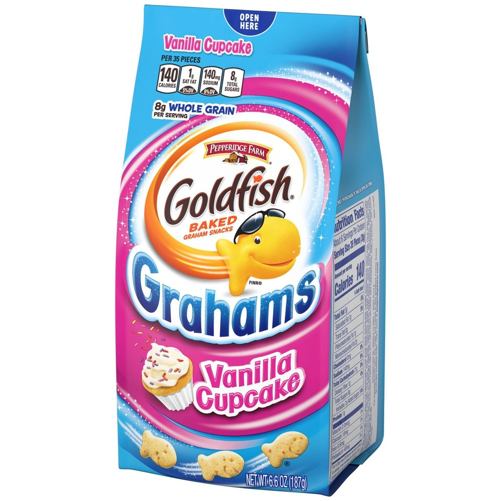 Pepperidge Farm Goldfish Biscuit,GRAHAMS Vanilla Cupcake  187g