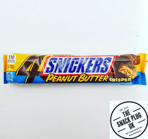 Snickers Peanut Butter Crisper 4 Squares 85.9g