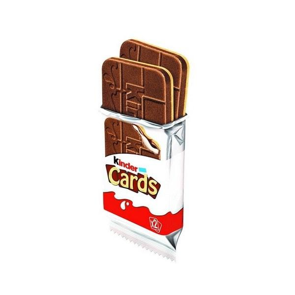 Kinder Cards Single 25g