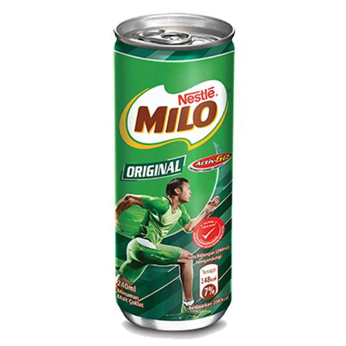 NESTLE MILO ORIGINAL CHOC MALT MILK 240ML