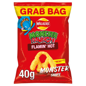 Walkers Monster Munch FLAMIN HOT 40G