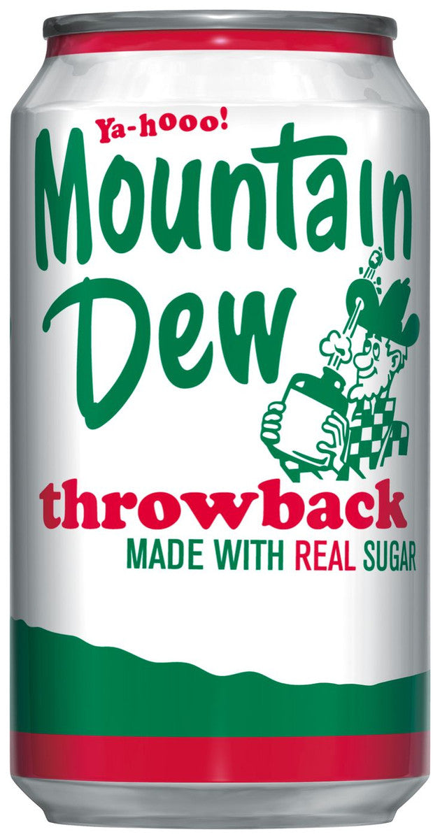 Mountain Dew Throwback 355ml
