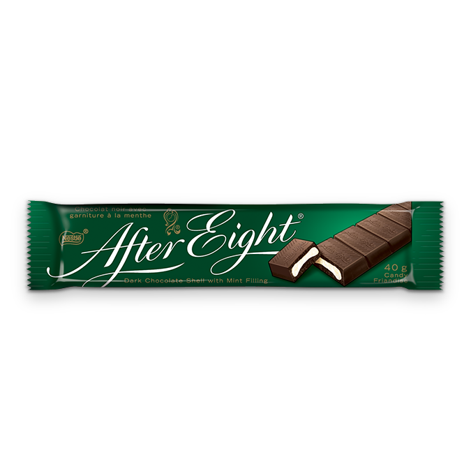 Nestle After Eight Dark Chocolate With Mint Filling 40g